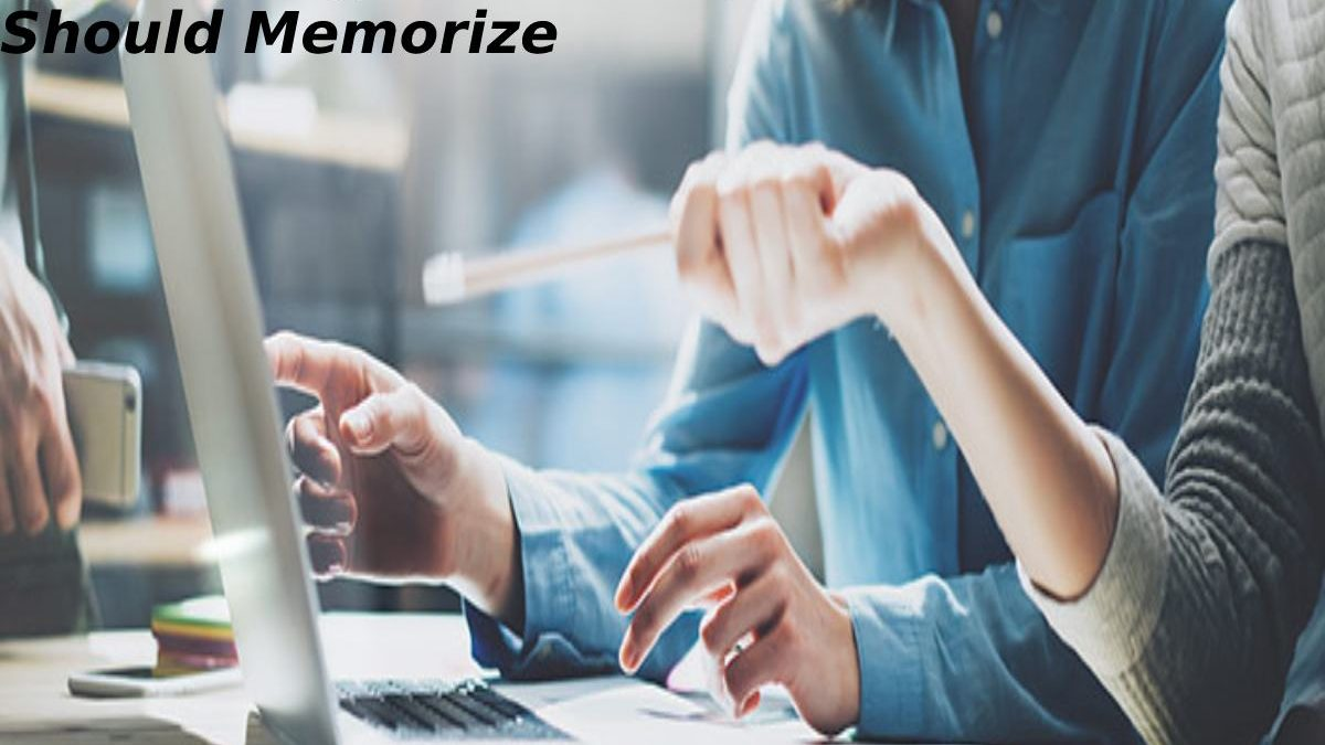 Basic Things New Computer Users Should Memorize