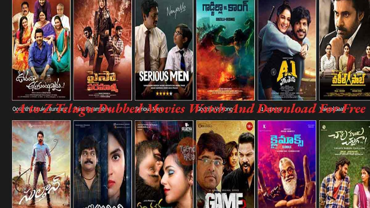 A to Z Telugu Dubbed Movies Watch And Download For Free