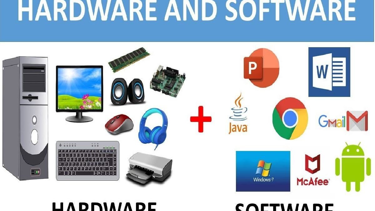 What is Hardware and Software? Definition and Differences